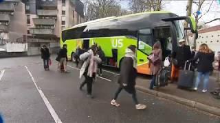 Grève SNCF : autocars et covoiturage prennent le relais des trains