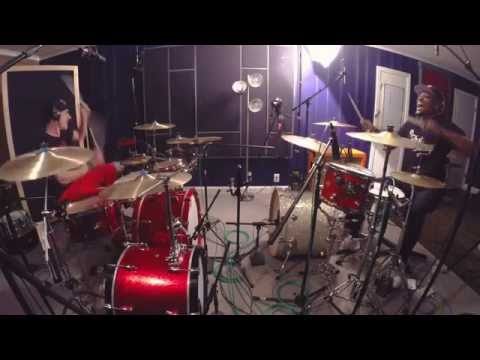 Maroon 5 - Sugar - Drum Cover w/ 2 Drummers! Ft. J-Will