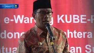 160902 Peluncuran Layanan E Warong KUBE PKH untuk Penyaluran Bantuan Sosial dan Subsidi