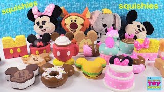 Disney Kawaii Squeezies Squishy Blind Bag Opening Toy Review | PSToyReviews