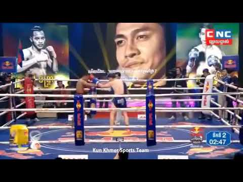 Best Boxing Lao Chantrea Vs Iran, 12 Oct 2019, Kun Khmer Boxing