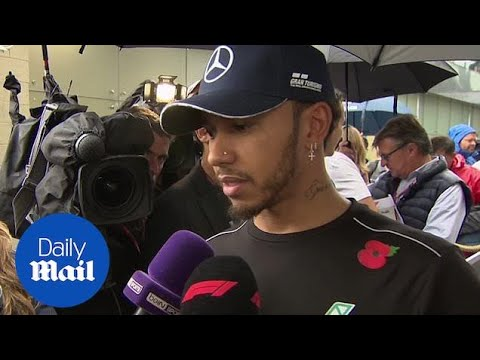 Lewis Hamilton's happy with Mercedes' work during Brazilian Grand Prix
