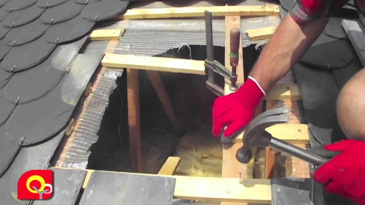 Installation sortie de toiture po le bois youtube - Installation conduit poele a bois ...