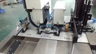 CMCC MAKINA Etikete Metal Cerceve Takma Makinasi - Automatic Tag drilling eyelet machine
