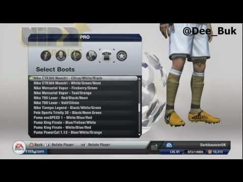 FIFA 13 - NEW NIKE BOOTS! - UPDATE - NEW BOOTS