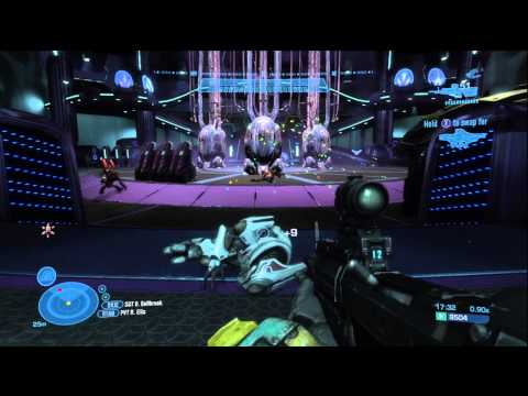 """Let's Play: Halo: Reach Part 6-2 """"Long Night of Solace"""""""