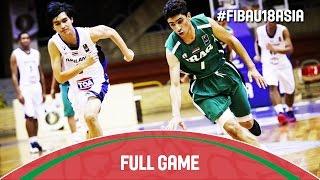 Thailand v Iraq - Full Game - 2016 FIBA Asia U18 Championship