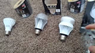Dirty electricity created by CFL and LED bulbs