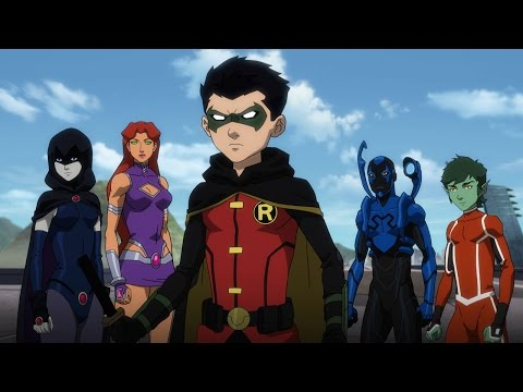 """Justice League vs. Teen Titans"" Official trailer"