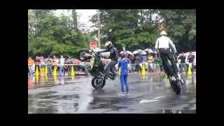 motorcycle mall stunt show 2013
