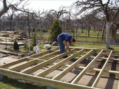 Pergole drewniane na taras