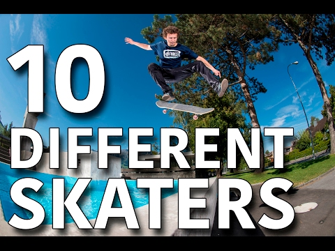 10 Kinds Of Skaters On Youtube