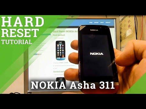 Hard Reset NOKIA Asha 311