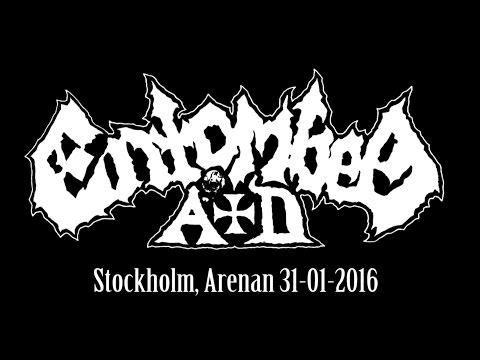 ENTOMBED A.D. live in Stockholm, Arenan 31-01-2016