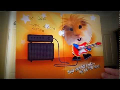 Rockin' Fathers day card!
