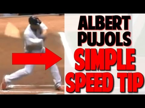 Albert Pujols | Swing Simple for Big Power (Pro Speed Baseball)