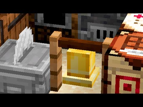 NEW Stonecutter, Grindstone, Barrel blocks, and MORE!!! Minecraft Snapshot 18w44a