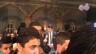 عمرو جمال يغني نعناع الجنينة لعروستة مع هيثم شاكر في حفل زفافة