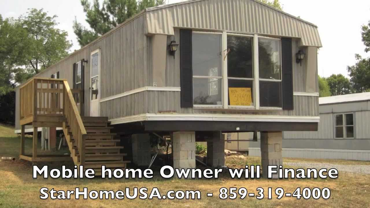 campbellsville ky mobile home owner finance trailer for