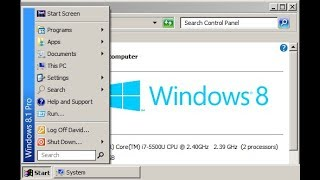 Tutorial: How to Get the Classic Theme in Windows 8.1