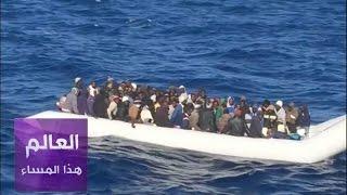 مشادة بين مسلمين ومسيحيين في قارب هجرة غير شرعية إلى إيطاليا