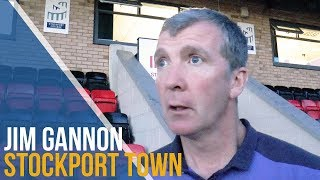 Jim Gannon Post-Match Interview - Stockport Town