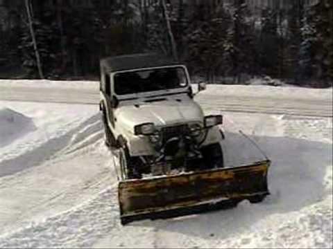 Jeep Snow Plow