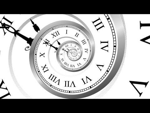 Countdown Clock optical illusion ( v 440 ) spiral timer with sound effect HD 4k