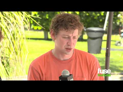 Foals on Being Hand-Picked by Metallica - Coachella 2013