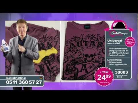 Schilling tv universalwaschmittel gratis hygienespüler 30003