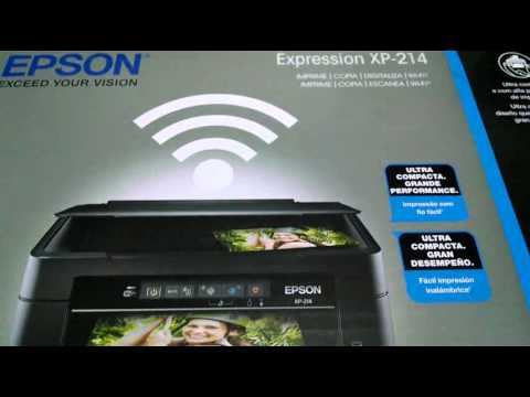 Multifuncional Epson XP-214 com Wifi