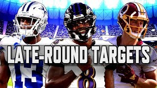 Fantasy Football 2019: Late round targets | NBC Sports