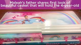 'My Little Pony' casket donated for Maleah Davis' funeral