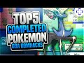 Top 5 New Completed Pokemon GBA Rom Hacks!