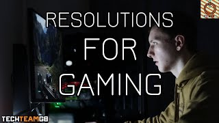 Resolutions for Gaming