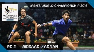 Squash: ElShorbagy v Matthew - U.S. Open 2016 - Final Highlights