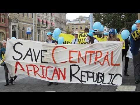 Campaigning for Central African Republic