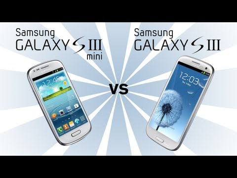 Samsung Galaxy S3 Mini v Samsung Galaxy S3