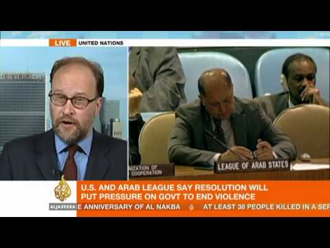 James Bays discusses UN resolution on Syria