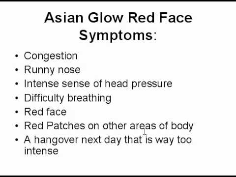 Do You Get a Red Face when Drinking Consuming Alcohol Alcoholic Beverages.avi
