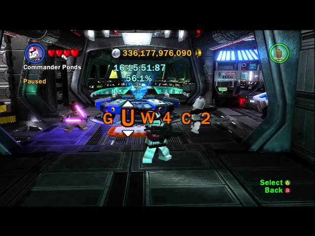 Lego Star Wars III: The Clone Wars - How To Unlock Cheat Codes