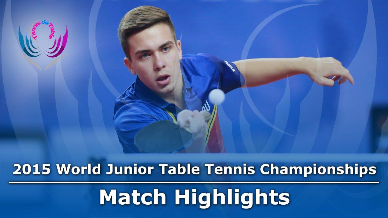 WJTTC 2015 Highlights: MANOLE Alexandru vs PIERAERT Valentin (Group)