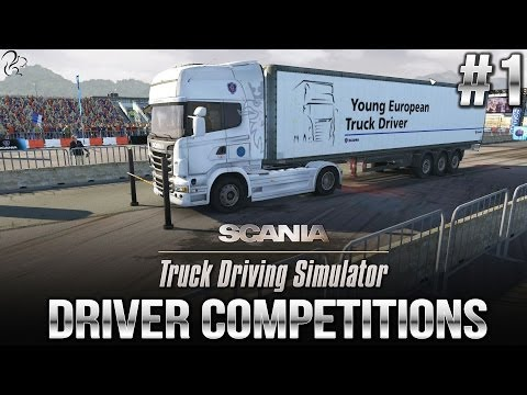 Driver Competitions #1 - Scania Truck Driving Simulator