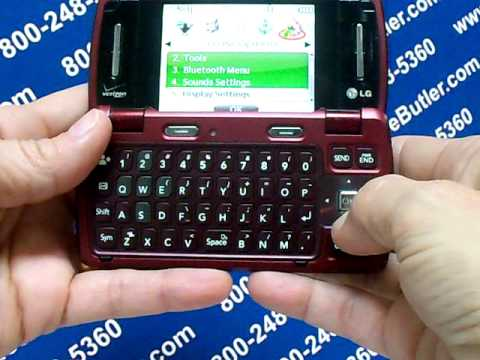 LG VX9200 - Erase Cell Phone Info - Delete Data - Master Clear Hard Reset