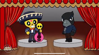 BRAWL STARS ANIMATION: POCO VS CROW #4 (NEW SKINS IDEA)