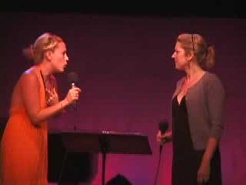 Julie Reiber & Tracy McDowell - Dont Think (Bobby Cronin)