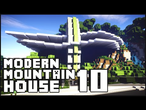 Minecraft - Modern Mountain House 10