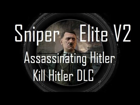 Assassinating Hitler - Sniper Elite V2 High Command Edition (Killing Hitler DLC)