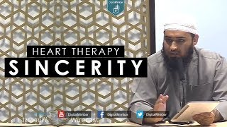 Heart Therapy: Sincerity – Yousaf Jahangir