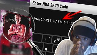 I FOUND A FREE PINK DIAMOND IN NBA 2K20! EXCLUSIVE LOCKER CODE!